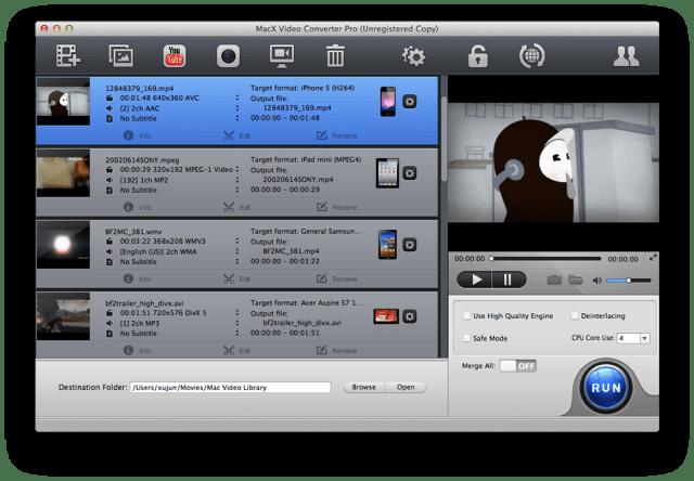 MacX Video Converter Pro-converter-shot1
