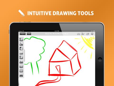 Conojo Whiteboard iPad App