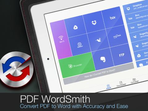 PDF WordSmith iPad App