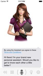 Speaktoit Assistant iPhone App