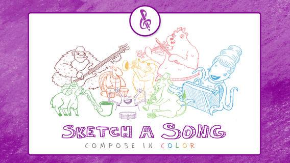 Sketch-a-Song Kids iPhone App