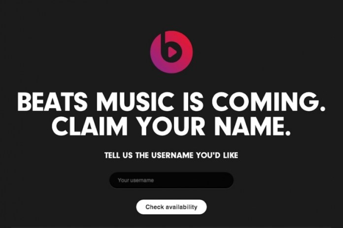 Beats Music Streaming Will Launch January 21
