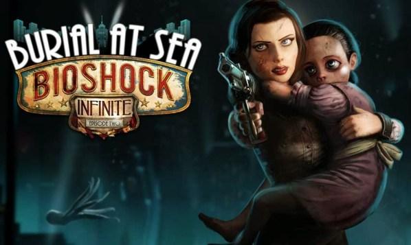 """Bioshock Infinite DLC """"Burial at Sea"""" Artwork"""
