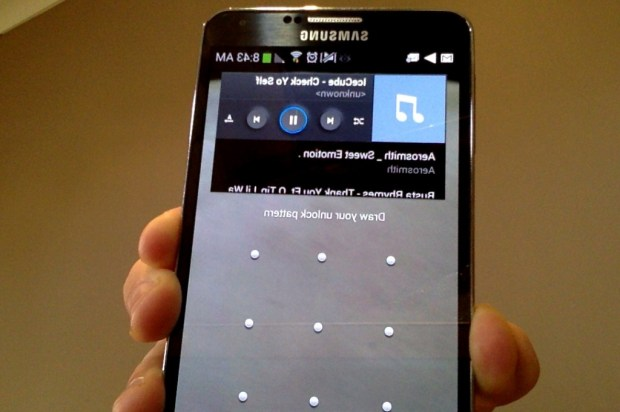 Samsung Galaxy Note 3 Music Player