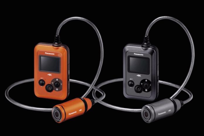 Panasonic Announces 4K Wearable Action Camera