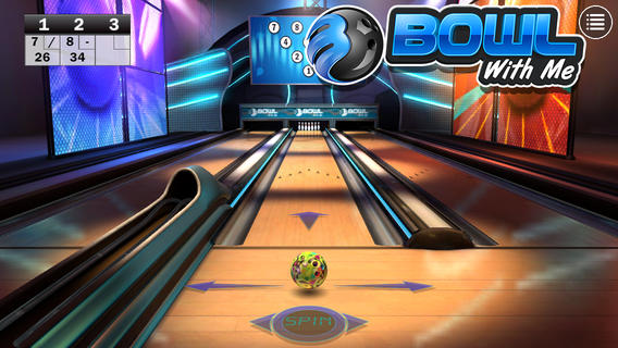 Bowl with Me iPhone game
