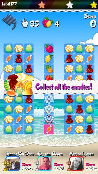 Sugar Crush HD iphone game review