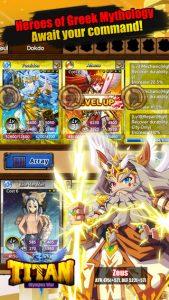 TITAN: Olympus War iPhone Game