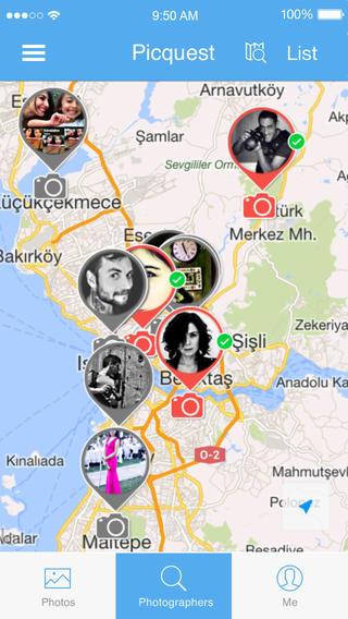 Picquest iPhone App