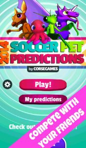 2014 Soccer Pet Predictions iPhone App