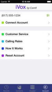 iVox iPhone App