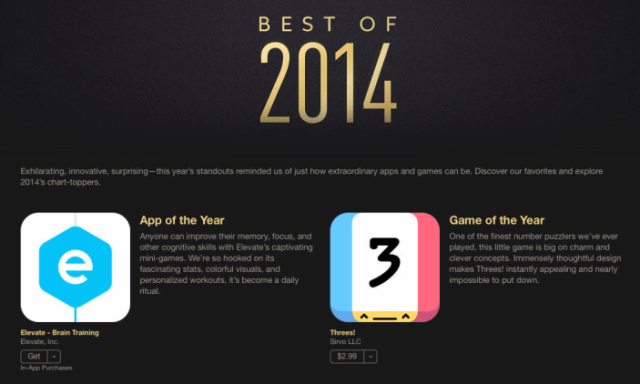best iPhone apps and games of 2014