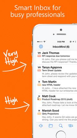 InboxMind Screen 1