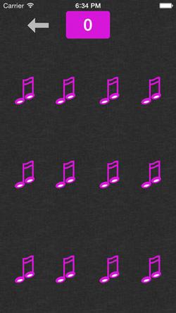 Musical Pairs Screen 4