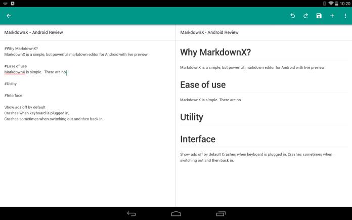 MarkdownX - Sample