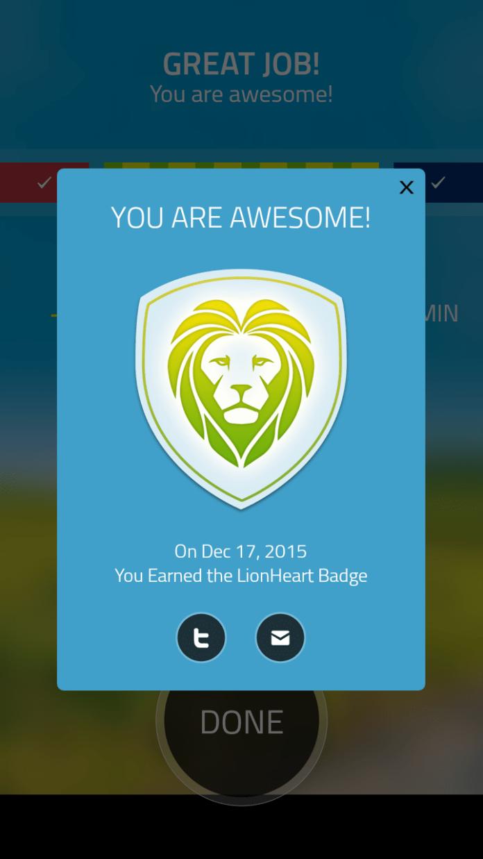5k Run- Badge