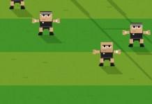 Retro Rugby iOS game