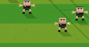 Retro Rugby iOS game