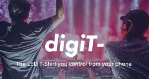 LED T-Shirt You Control From Your Phone