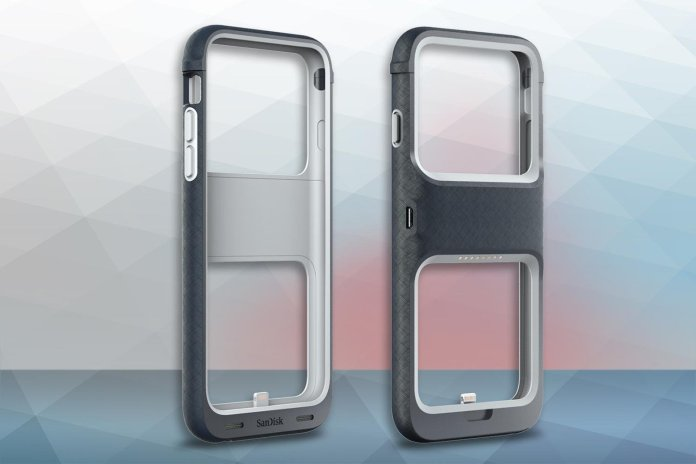SanDisk iXpand Memory Case protects your iPhone and increase its storage too