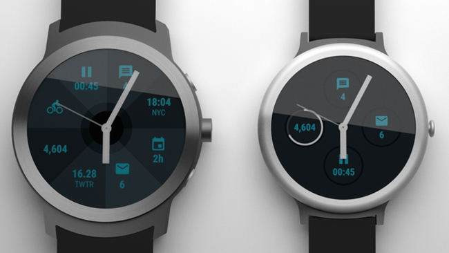 First Google smartwatch renders appear with a round watch face