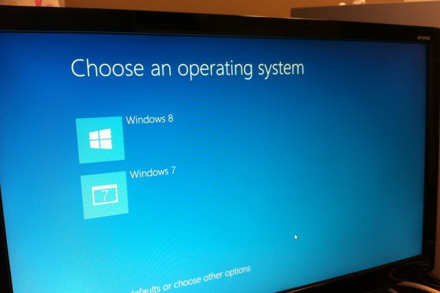 No new machines will come with Windows 7 or Windows 8 installed