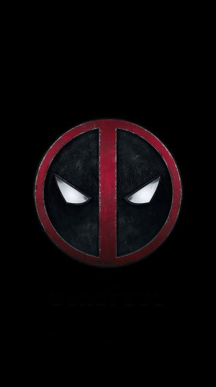 Deadpool Logo HD Gaming Wallpapers for iPhone 7