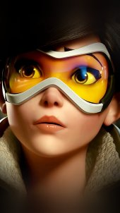 Girl with Glasses HD Gaming Wallpapers for iPhone 7