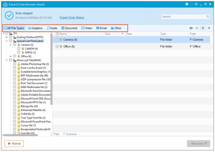 EaseUS Data Recovery Wizard Review 3