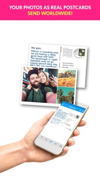 MyPostcard Postcard App 1