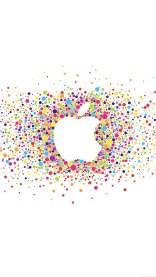 Apple Logo iPhone 7 Colorful Wallpapers