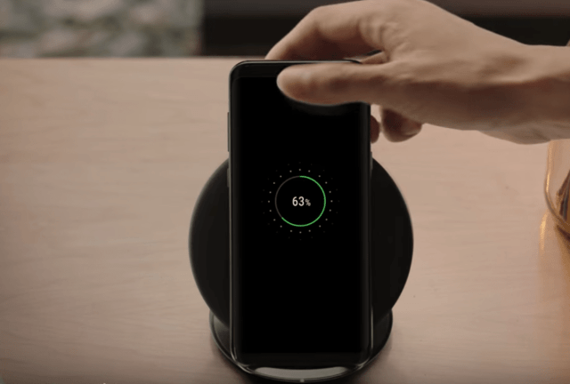 Image of wireless charging capability