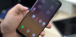 An Image of the Samsung Galaxy S8 for AT&T, T-Mobile, Sprint and Verizon Plans