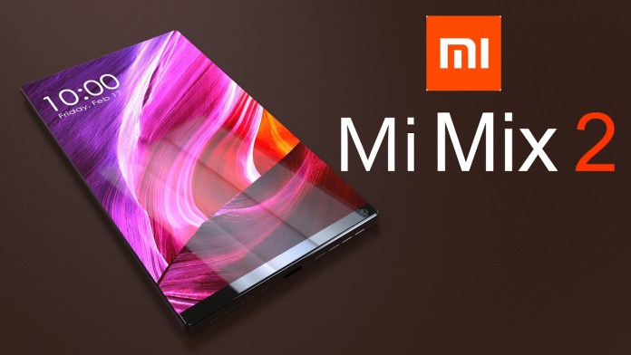 Xiaomi Mi Mix 2 Design Leaked