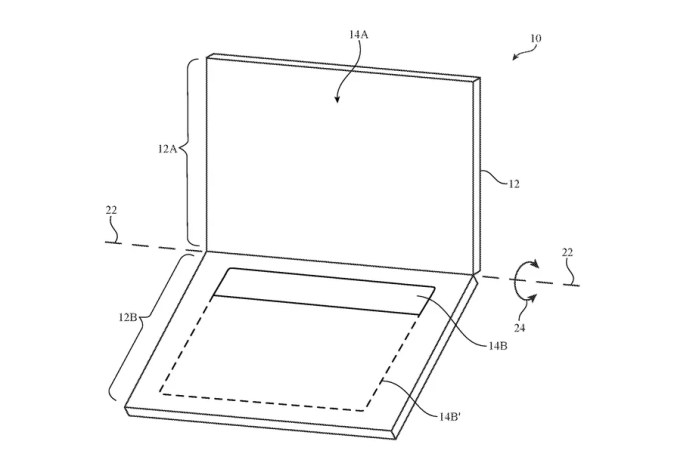 MacBook touch-keyboard patent