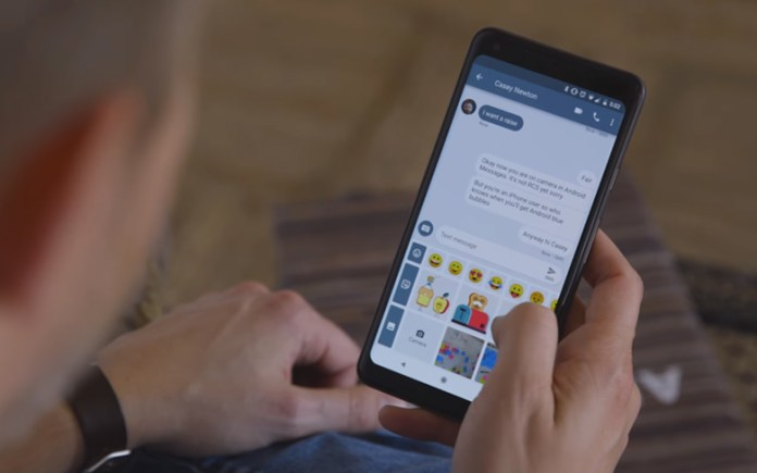 Google's new service Chat will be based on RCS