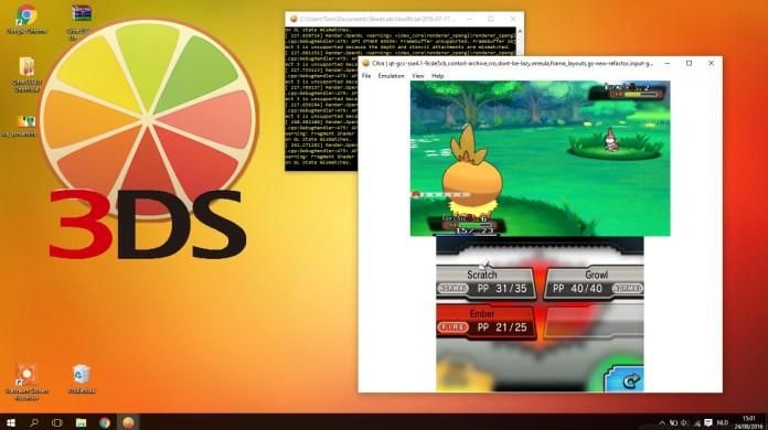 Pokemon 3DS emulator