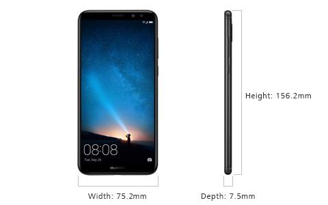 Huawei mate 10 lite size