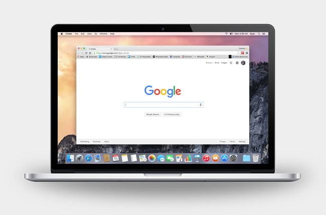 Chrome focuses on simplicity
