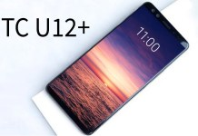 An image of the HTC U12 plus.