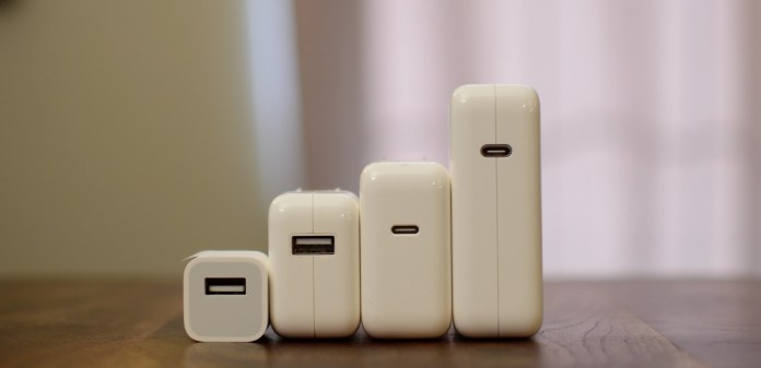 All Apple chargers. All of them can be used to charge an iPhone