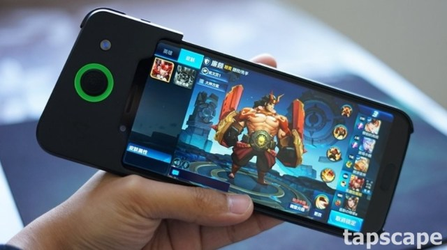 Gaming Smartphone in action