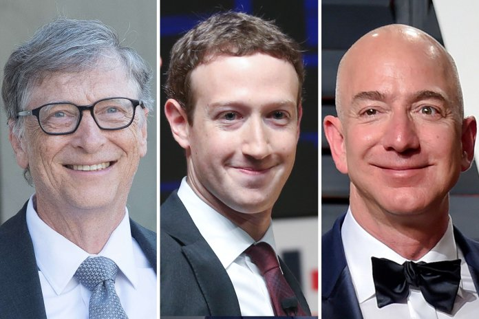 Top 3 richest people