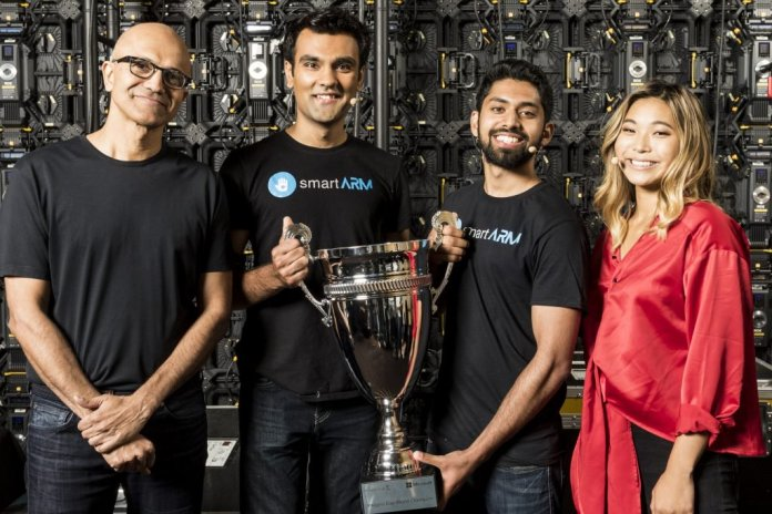 smartARM with Microsoft CEO