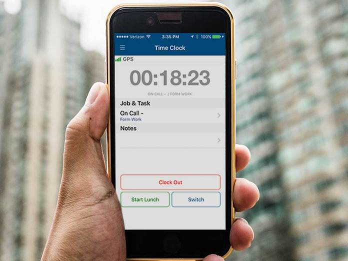 Time Tracking App for Android