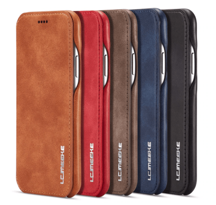 Flip Stand Leather Wallet Case
