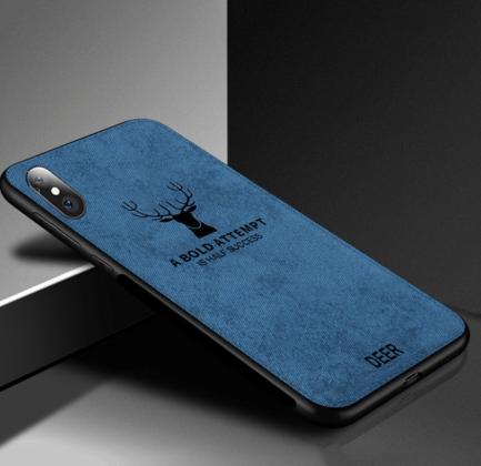 Blue Fabric Luxury Cloth Case
