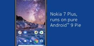 Nokia 7 Plus Android 9.0 Pie