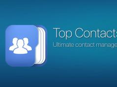 Top Contacts App