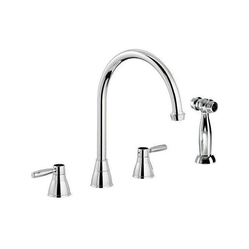 Abode Brompton 3 Part Sink Mixer with Hendon Handspray Chrome